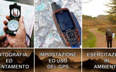 Corso di cartografia, uso del gps ed orientamento in ambiente della Uisp Lega Montagna di Firenze