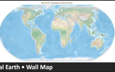 Equal Earth maps: un nuovo modo di vedere il mondo.