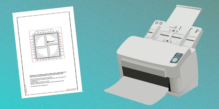 Stampare gli strumenti per cartografia
