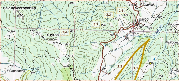 Cartina Topografica.Interpretazione Dell Ambiente Introno A Noi E Lettura Della Carta Topografica Mondogeo