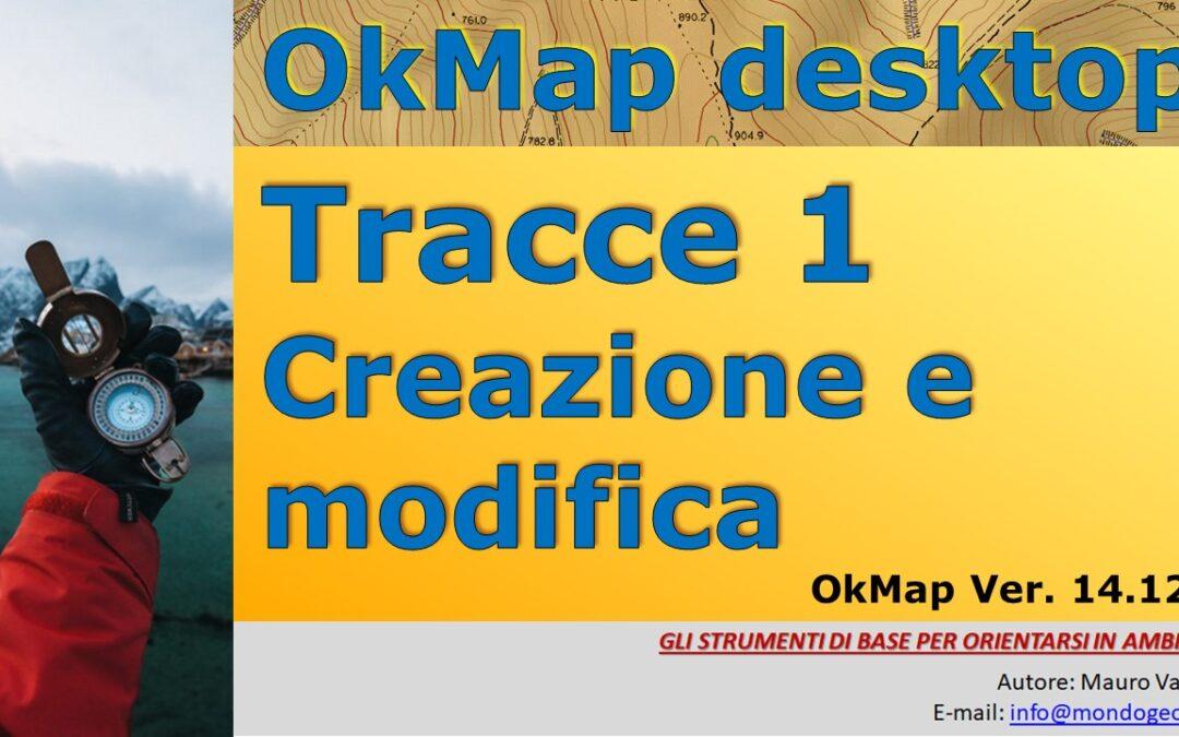 OkMap, salvataggio delle tracce