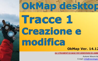 Tracce 1: creazione e modifica delle tracce con OkMap