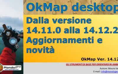 OkMap: dalla versione 14.11 alla 14.12.2: Aggiornamenti e novità