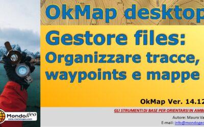 Il Gestore File di OkMap